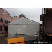 Wholesale 12M Wide Aluminum Framed Industrial Storage Tents white pvc fabric cover from china suppliers