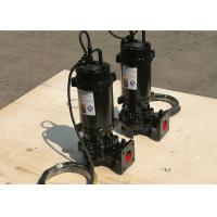 Wholesale Submersible Vortex Vertical Sewage Pump Low Pressure IP68 Motor Protection from china suppliers