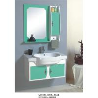 Wholesale hung  cabinet / PVC bathroom vanity / wall cabinet / whitecolor for bathoom kitchen 80 X49/cm from china suppliers