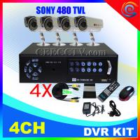 Wholesale 4 CH CCTV DVR Kit 8 IR Cameras H.264 CCTV System CEE-DVR-7004C910 from china suppliers