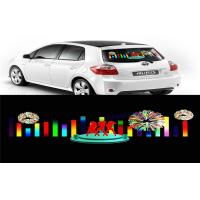 Wholesale Car Music Rhythm Lamp , Advertising Poster EL Car Sticker With Low Power Consumption from china suppliers