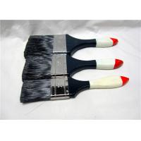 Wholesale Black Bristle Flat House Paint Brushes With Lacquered Wooden Handle from china suppliers