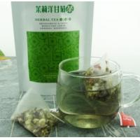 Wholesale natural jasmine chamomile flower tea triangle teabag from china suppliers