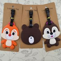 Wholesale Factory manufacturer fashione design silicone luggage tags from china suppliers