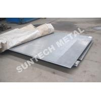Wholesale R60702 / SB265 Gr.1 / SA516 Gr.60 Zirconium Clad Plate for Acetic Acid from china suppliers
