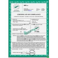 B-Tohin Machine (Jiangsu) Co., Ltd. Certifications