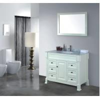 Buy cheap newly Hot sale fasion solid wood Bathroom cabinets from wholesalers