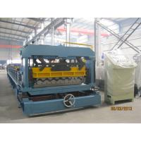 Wholesale PLC Converter Roof Tile Roll Forming Machine For Factory Hotel Roof from china suppliers