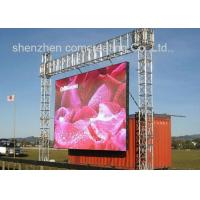 Quality HD Big P10 Led Moving Display Mobile Outdoor Led Video Wall  Panels for sale