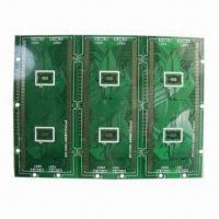 Wholesale Multi-layer PCB with 4 Layers and Green Solder Mask from china suppliers
