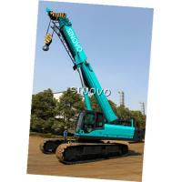 Wholesale Telescopic Hydraulic Crawler Crane with Cummins Engine , 0 ~ 2.0 r/min Slewing speed from china suppliers