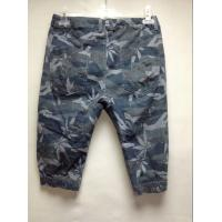 Buy cheap Cotton Fabric Plaid Mens Camo Cargo Lounge Pants , Mens Casual Trousers from wholesalers