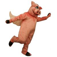 Wholesale Flying Hog mascot costume,Plush animal costumes,Advertising mascot costume,Custom costume from china suppliers
