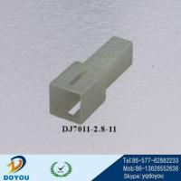 Wholesale DJ7011-2.8-11 2.8 type nylon male automotive wire connector from china suppliers