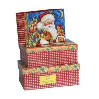 Wholesale Paper Gift Box & Bag » Santa Christmas Gift Boxes from china suppliers