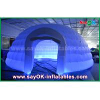 Wholesale White Round Inflatable Dome Tent Commercial Event Tent For Party / Trade Show from china suppliers