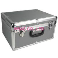 Wholesale Custom 5mm MDF Gray ABS Carrying Case With Foam , Aluminum Flight Case from china suppliers