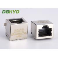 Wholesale Customized Single port pcb mount SMD/SMT low profile rj45 modular jack from china suppliers