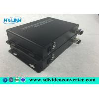 Wholesale 0 ~ 115.2Kb / s Baud rate HD SDI to Fiber Converter video over fiber optic transmitter 270Mb / s from china suppliers