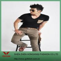 China Men's Fashion T-shirt on sale