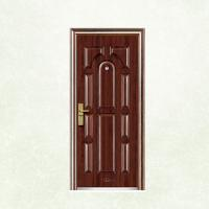 Wholesale New Flush Panel Steel Door Design Steel Security Doors EGI Doors from china suppliers