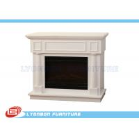 Wholesale Durable White Interior Room Decor MDF Fireplaces 1125mm * 320mm * 930mm from china suppliers