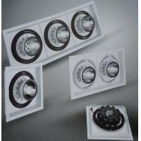 Quality 2015 new design alu led recessed downlight with single lamp, double lamps and three lamps for sale