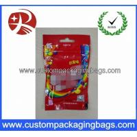 Wholesale Gravure Printing Custom Packaging Bags , Socks Self Adhesive OPP Packaging Bag from china suppliers