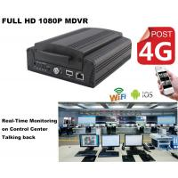 Wholesale Full HD1080P Car DVR 4Ch Hard Drive H.264 MDVR Real Time GPS Tracking On Android from china suppliers
