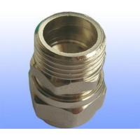 Wholesale compression brass fitting male straight for PEX-AL-PEX from china suppliers