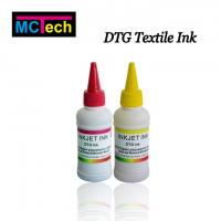 Wholesale No clogging digital print on fabric textile pigment ink for epson 1390 printer from china suppliers