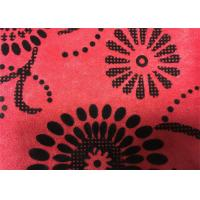 Wholesale Home Textile Cushion Flocked Fabric Anti-Static 145cm Width from china suppliers