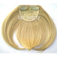 Wholesale Custom Tangle Free Blond 100%  Remy Virgin Hair Fringe Wig from china suppliers