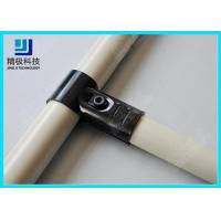 Wholesale Adjustable Metal Joint for Pipe Rack , Thickness 23mm  T-Type Black Tubing Joint HJ-1 from china suppliers