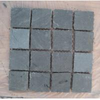 Wholesale Natural Green Slate Tumbled Flagstone Patio Flooring Pavers Green Slate Flagstone Pavement from china suppliers