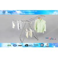 Wholesale Heavy Duty Metal Clothes Drying Rack Butterfly Type For Indoor / Outdoor from china suppliers
