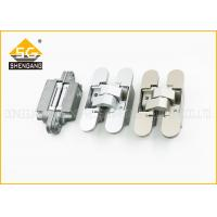 Wholesale 180 Degree Italian Hinges , 3D Adjsuatble Zinc Alloy Invisible Door Hinge from china suppliers