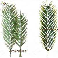 Wholesale UVG PTR043 new design PU real touch artificial palm tree leaves for club landscaping from china suppliers