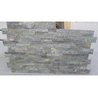 Wholesale Forest Green Quartzite Thin Stone Veneer,Fireplace Stacked Stone,Outdoor Quartzite Culture Stone from china suppliers