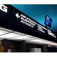 Wholesale Indoor Low Radiation Airport Sign System , Advertising LED Information Board Sign from china suppliers