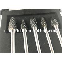 Wholesale YG8 Tungsten Carbide Rotary Burrs / Tungsten Carbide Grinding Bits For Non Ferrous Metal from china suppliers