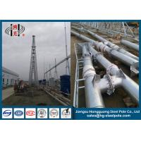 Wholesale 500KV Anti Rust Galvanized Steel Structures , Hot Dip Galvanized Power Transmission Tower from china suppliers
