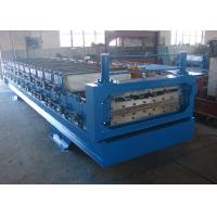 Wholesale 15m/min Metal Roofing Double Layer Roll Forming Machine For Steel Shed from china suppliers