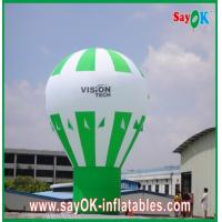 Wholesale Green Ground Advertising Balloons Custom Inflatable Products Rainbow Design from china suppliers