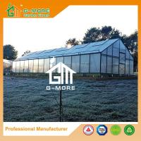 Wholesale 1406x506x302cm Black Color 4 Seasons Aluminum + Polycarbonate Commercial Greenhouse from china suppliers