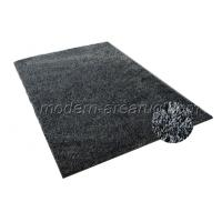 Wholesale Black / white 1200D Soft Silky Polyester Shaggy Rug, Home / Hotel / Meeting Rooms Decorative Rugs from china suppliers