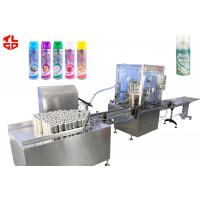 Wholesale Home Deodorant Aerosol FillingLine , Full Automatic Aerosol Can Filling Equipment from china suppliers