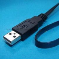 Wholesale Flat-type USB Phone Cord with USB Jack Connector to Extension Cable Assembly for Electric Ethernet from china suppliers