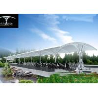 Wholesale Big Modern Double Car Canopy Fabric Shade Structures For 30 Cars Parking from china suppliers