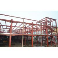 Quality Clear Span Prefabricated Industrial Buildings Galvanized Insulation Energy Saving for sale